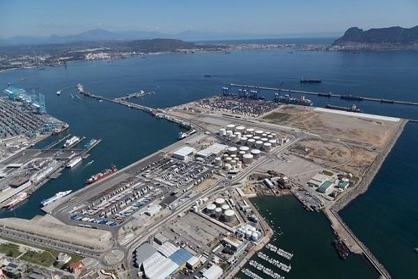 Puerto de Algeciras subasta engrandecimiento del atraque ro-ro de Isla Verde Interior