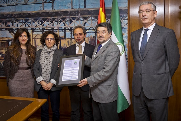 Puerto de Huelva restablece la certificación de gestión medioambiental PERS