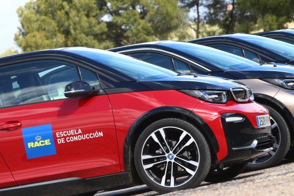 RACE BMW curso coches eléctricos