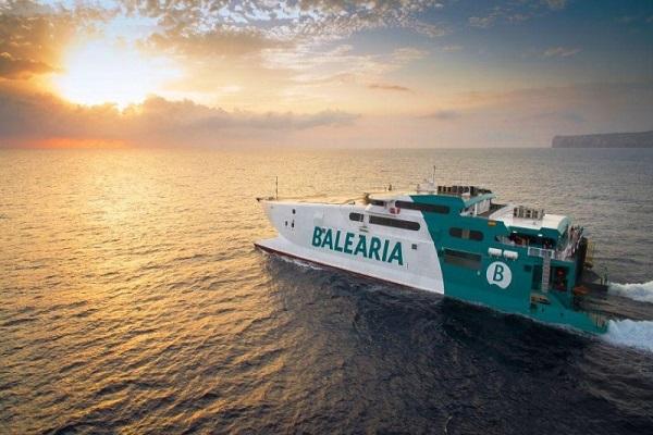 Baleària lanza conexión de alta velocidad entre Barcelona y Baleares para verano