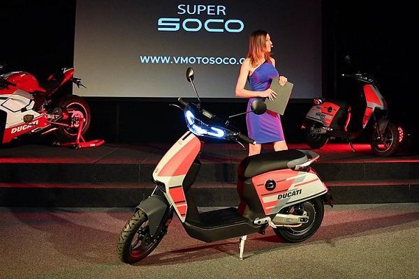 Ducati scooter eléctrico