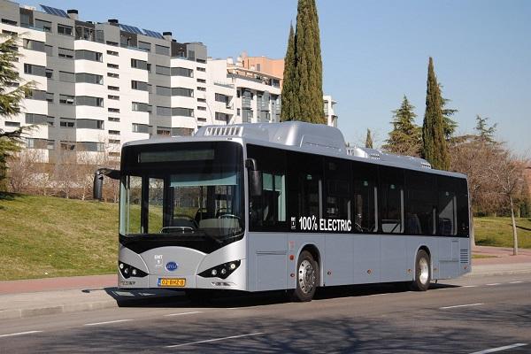 EMT Madrid autobuses eléctricos BYD