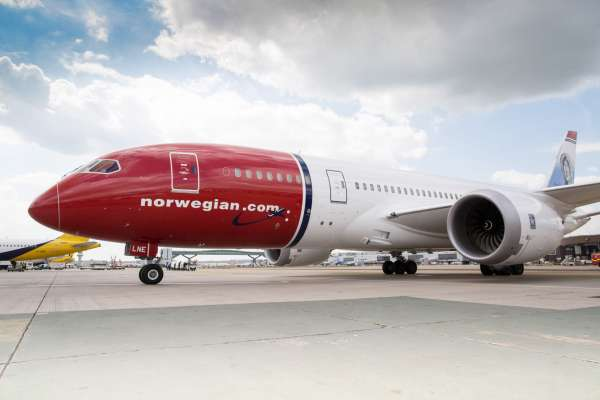 Norwegian Madrid Boston