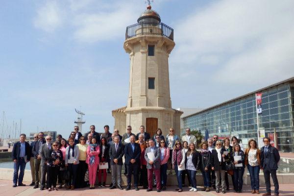 Puerto de Castellón se promociona como puerta para la exportación de Teruel