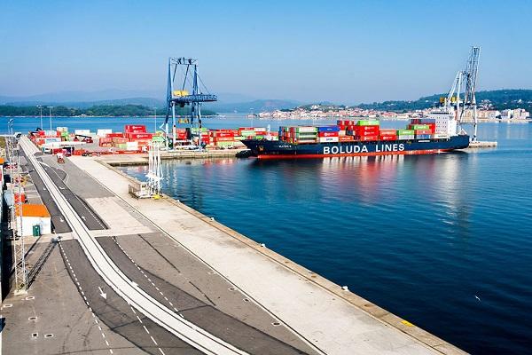 Puerto de Vilagarcía registra su mejor primer trimestre en tráfico de mercancías