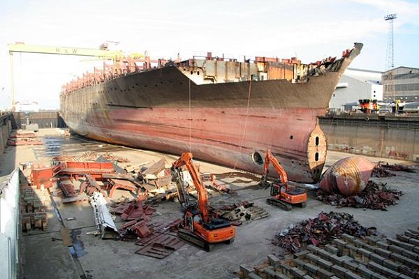 Comisión Europea añade ocho instalaciones nuevas de reciclaje de buques