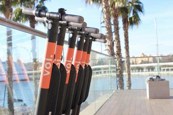 Patinetes Voi Málaga bicicletas eléctricas