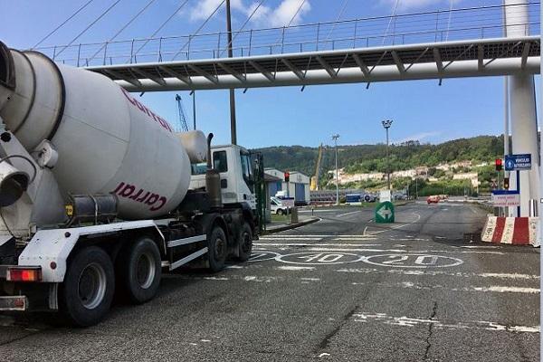 Puerto de Ferrol estrena nuevo sistema de control de tráfico rodado