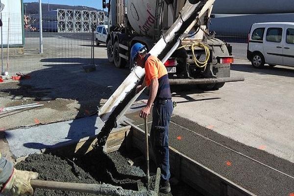 Puerto de Ferrol instala nuevo sistema de drenaje de aguas