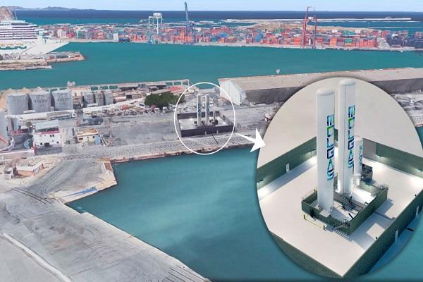 Puerto de Valencia contará con nueva instalación para repostaje de GNL