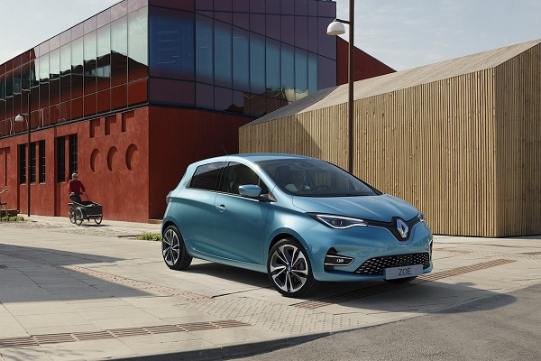 Renault tercera generación eléctrico ZOE