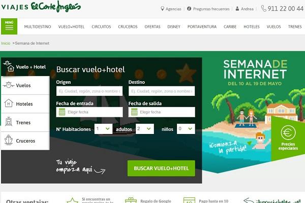 Viajes El Corte Inglés Pullmantur ofertas verano