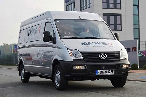 furgonetas eléctricas Maxus EV80 España