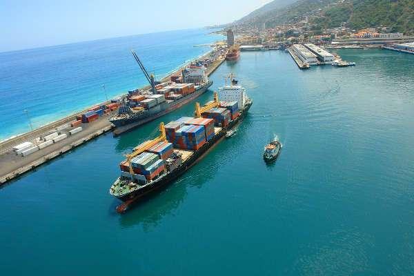 puertos en el caribe