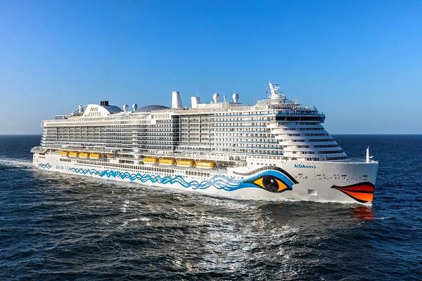 Aida Cruises testará el uso de pila de combustible en un crucero