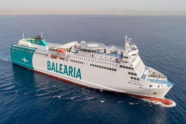 Baleària estrena su tercer buque con Gas Natural Licuado