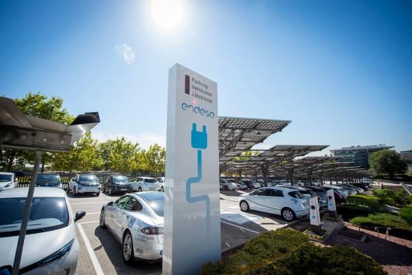 España puntos recarga eléctricos