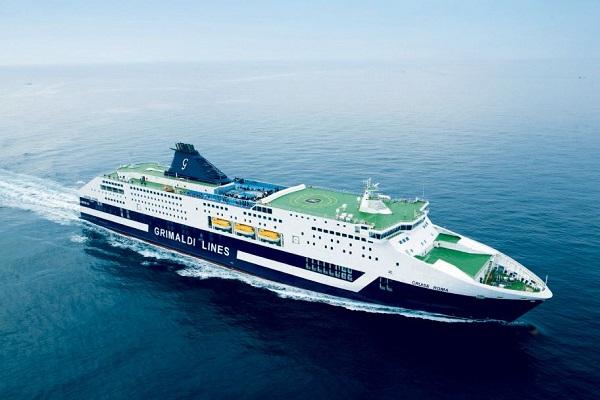 Grimaldi instala nuevas baterías eléctricas para sus buques