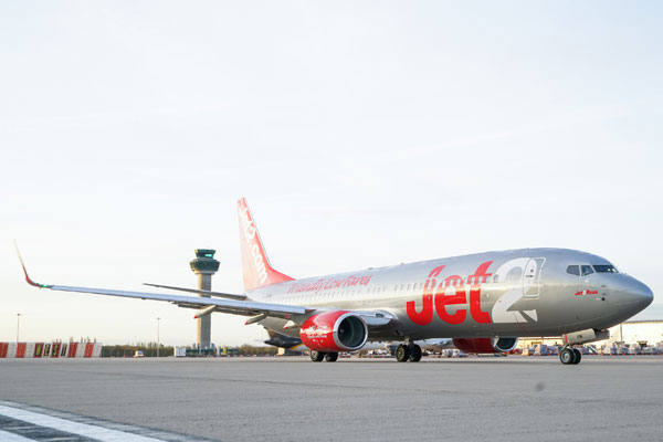 Jet2 Murcia Londres Birmingham