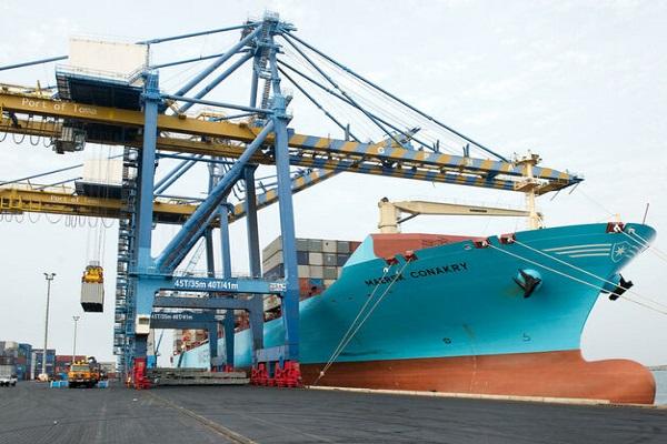 Maersk estrena nueva línea que une Huelva con Tánger-Med y Casablanca