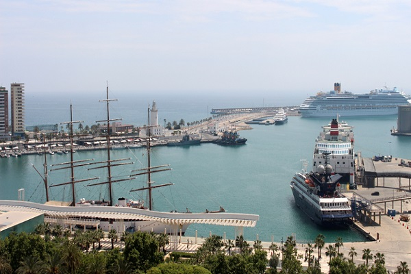 Puerto de Málaga comienza plan Puerto Verde para mejorar sostenibilidad