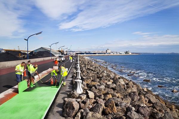 Puerto de Tarragona otorga las obras de mejora del vial de Ribera