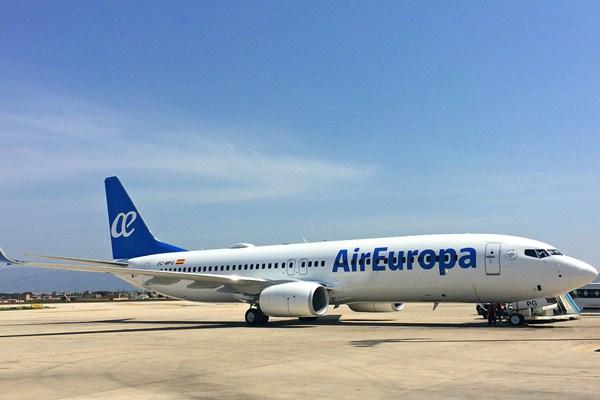 Air Europa América Europa 2020