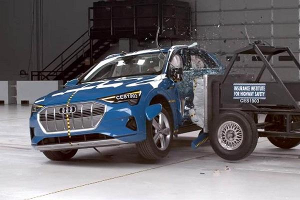 Audi e-Tron calificación seguridad