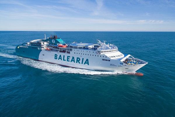 Baleària fortalece línea Almería-Nador para el retorno de Operación Paso del Estrecho