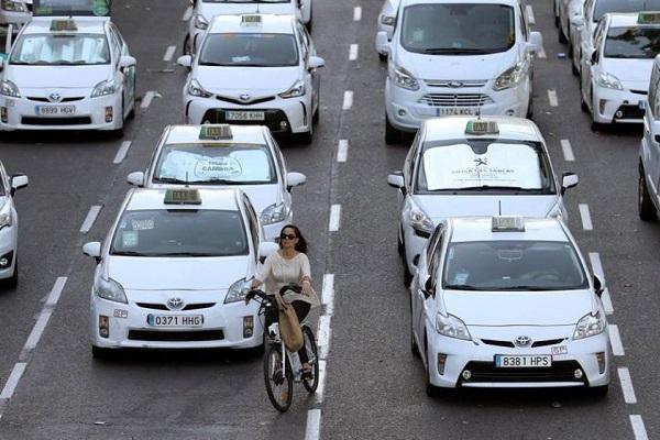 Precio taxis España