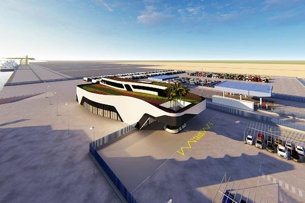 Puerto de Huelva abre convocatoria para construir edificio multifuncional en Muelle Sur