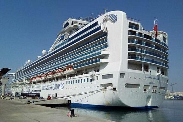Puerto de Málaga acoge al crucero Shapphire Princess por primera vez
