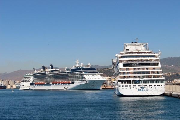Puerto de Málaga acogerá 15.000 visitantes en cruceros durante su Feria