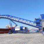 Puerto de Málaga estrena la cinta ecológica transportadora de clínker