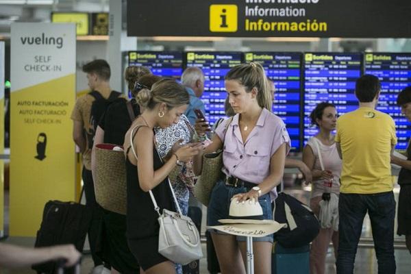 El Prat demoras aeropuertos