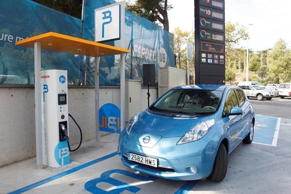 España puntos de carga eléctricos