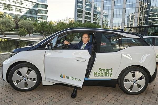 Iberdrola flota coches eléctricos