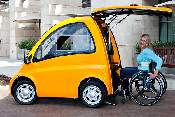 Kenguru coche eléctrico discapacitados