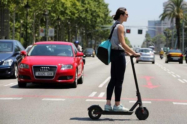 Movilidad sostenible mujeres España