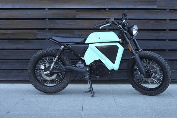 OX One moto eléctrica personalizable