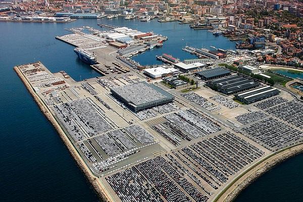 Puerto de Vigo desciende un 1% el tráfico portuario en agosto