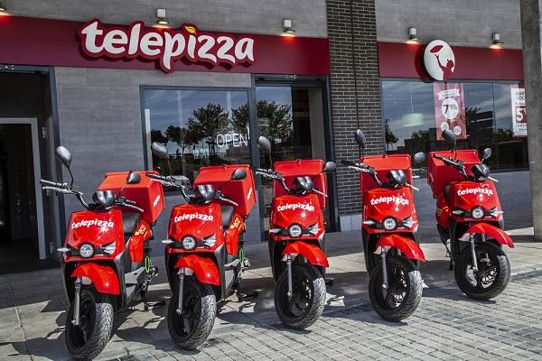 Telepizza motos eléctricas