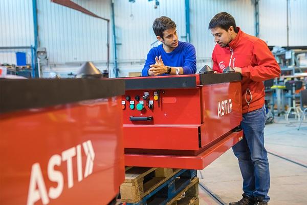 Asti Mobile Robotics aumentará fabricación de robots móviles para sector de la producción