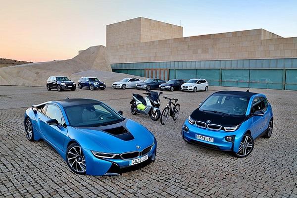 BMW Emovili cargadores