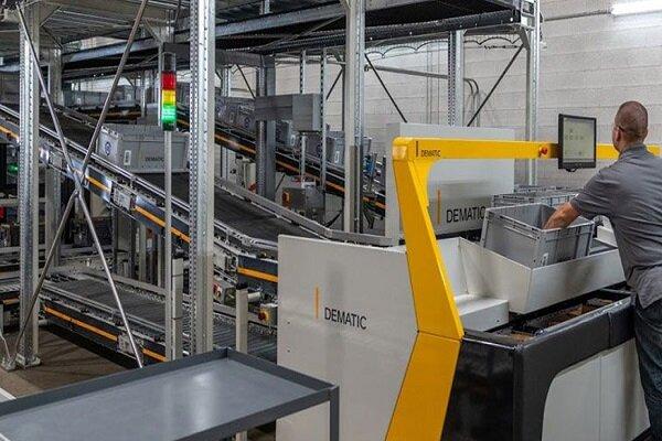 Dematic diseña nuevo sistema de automatización para gestión de pedidos