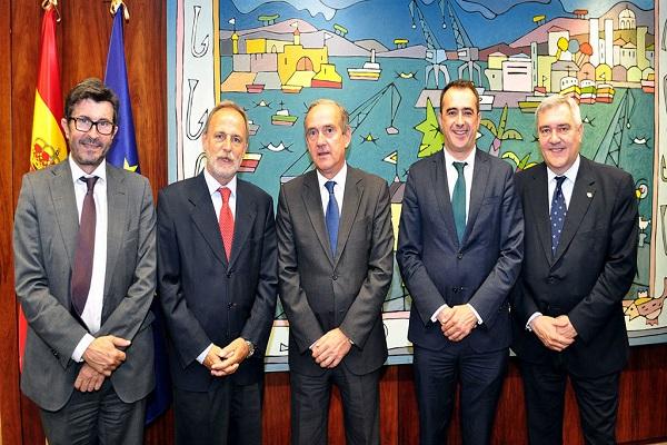 Puerto La Coruña y Puertos del Estado acuerdan Plan de Empresa 2020