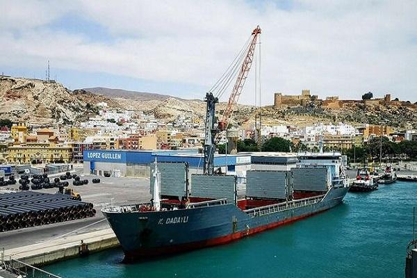 Puerto de Almería mejora 512% tráfico de mercancías en contenedor hasta agosto