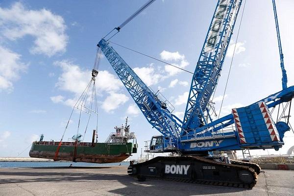 Puerto de Las Palmas incorpora nuevo carril para grúa Super Post Panamax