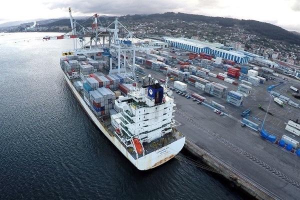 Puerto de Marín se posiciona entre los primeros puertos en importación de fruta
