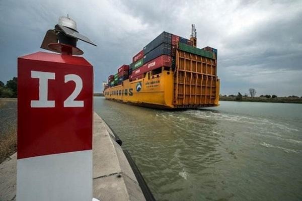 Puerto de Sevilla avanza en la ampliación del muelle Armamento
